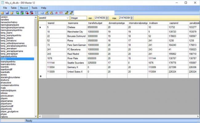 database master